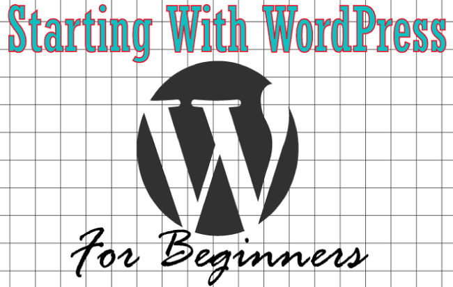 starting with wordpress