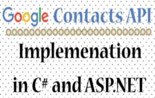 Implementing Google Contacts API Version 3.0 & OAuth 2.0 in CSharp and ASP.NET [Updated]