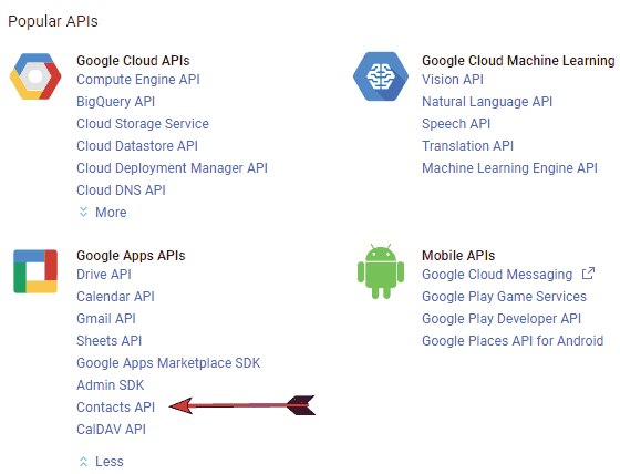 Implementing Google Contacts API Version 3 0 & OAuth 2 0 in