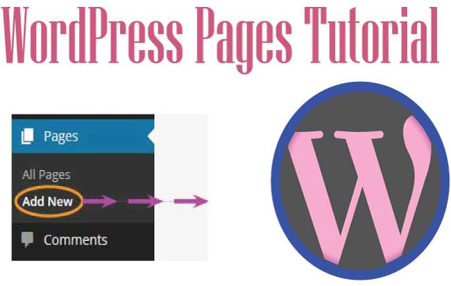 How to manage Pages in WordPress – Add, Edit & Delete procedure