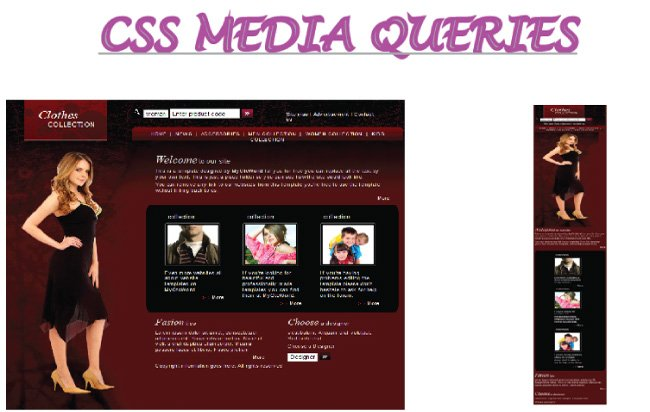 How to create Responsive Web Design using CSS Media Queries