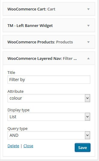 WooCommerce Layered Nav