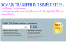 Domain Name Transfer from One  Registrar to Another