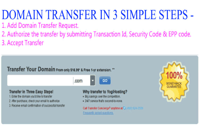 Full Procedure of Domain Name Transfer from One Registrar to Another