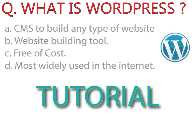 What is WordPress and how to use it to design your Website – completely free.