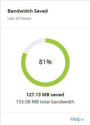 Save Server Bandwidth
