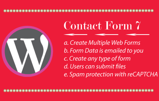 Create amazing Web Forms using Contact Form 7 Plugin in WordPress