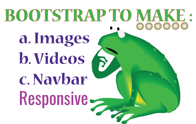 How to Use Bootstrap to Make Images, Videos and Navbar Responsive