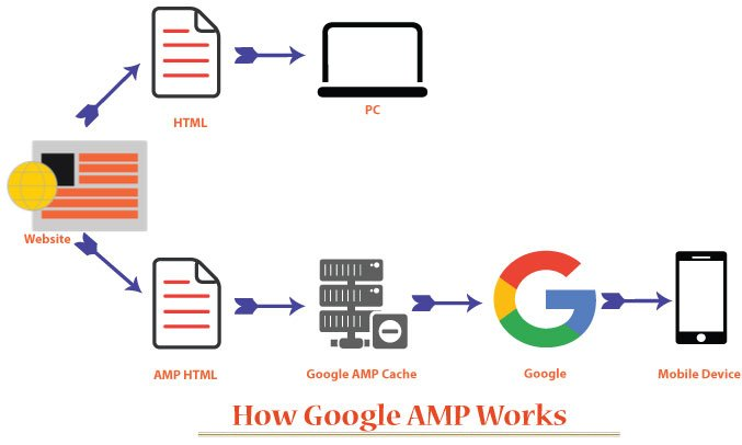 how google amp works