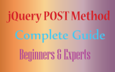jQuery Post Complete Guide for Beginners and Experts
