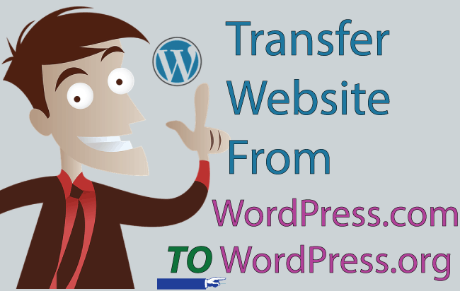transfer wordpress com to wordpress org