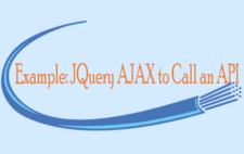 Example: JQuery AJAX to Call an API