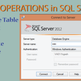 crud operations in sql server