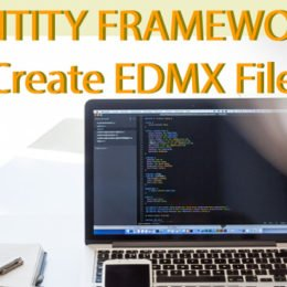 entity framework create edmx file