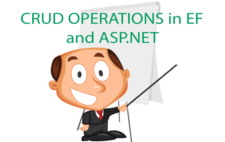 CRUD Operations in Entity Framework and ASP.NET