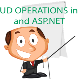 crud operations in EF asp net
