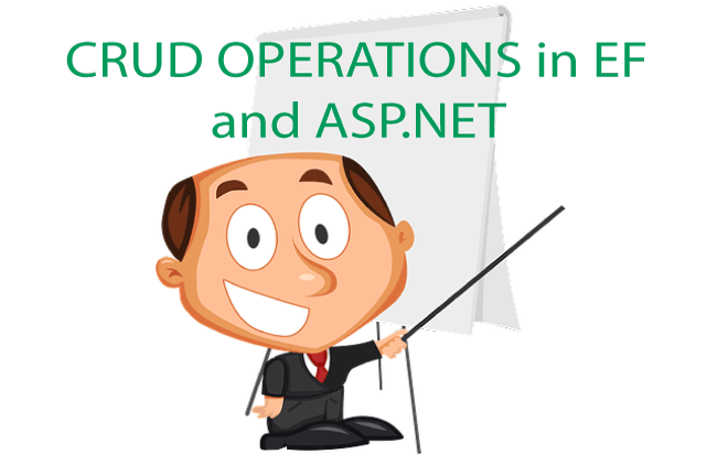 How to perform CRUD Operations in Entity Framework and ASP.NET Web Forms