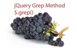 jQuery grep – $.grep() Method