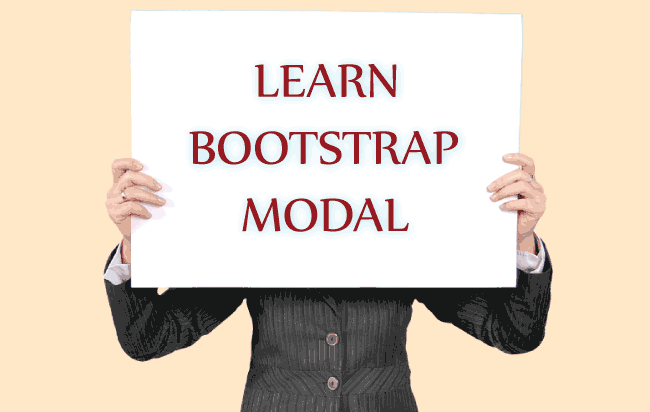 How to Create Bootstrap Modal in your Website