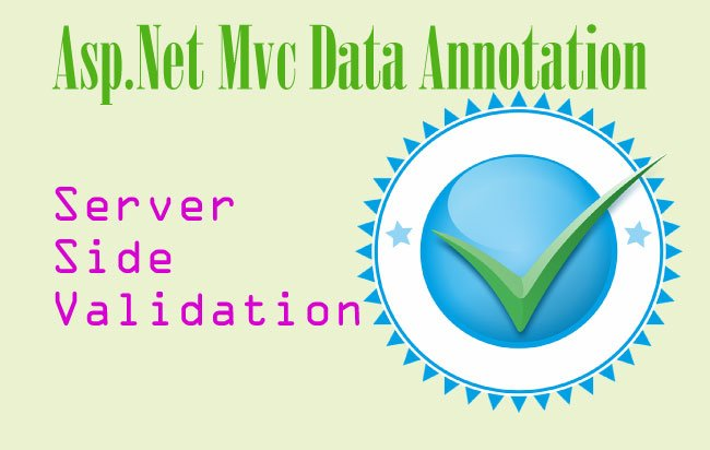 ASP NET MVC Data Annotation - Server Side Validation of