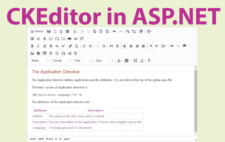 How to use CKEditor in ASP.NET – Developers Guide with Sample Codes to Download