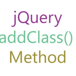 jquery addclass