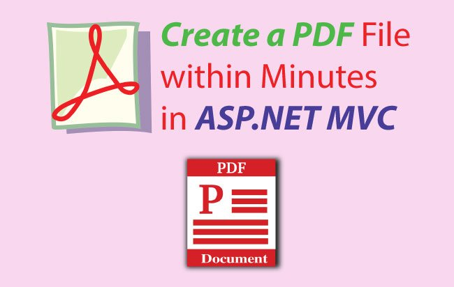 How to create a PDF file in ASP.NET MVC using iTextSharp