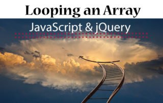 JavaScript Loop: Iterate through an Array or an Object (multiple examples)