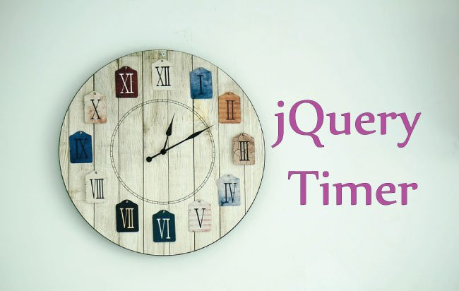 4 jQuery Timer examples which all developers should know
