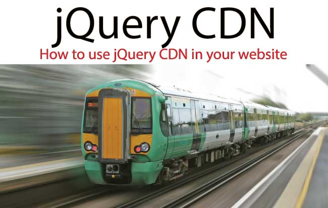 What is jQuery CDN and how to you use it in your website
