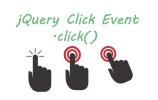 How to use jQuery Click Event .click()