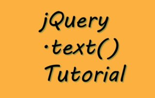 jQuery Text Method – .text() – Complete Usage Guide with Codes