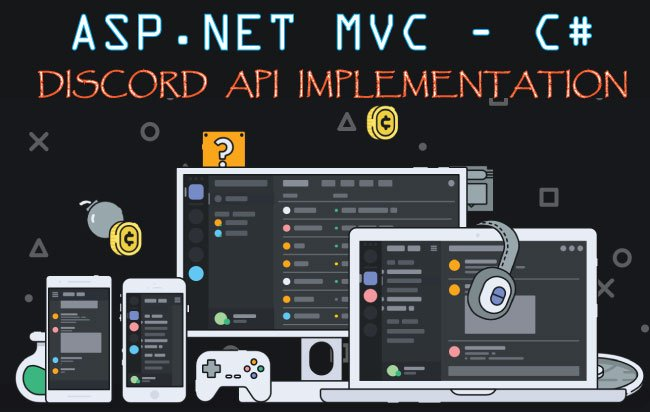 How to Implement Discord API in ASP NET MVC & C#