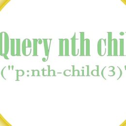 jquery nth child