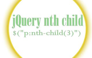 Selecting elements using jQuery :nth-child() method