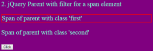jquery parent with filter