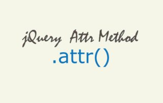 How to use jQuery attr() method – Tutorial with codes to download