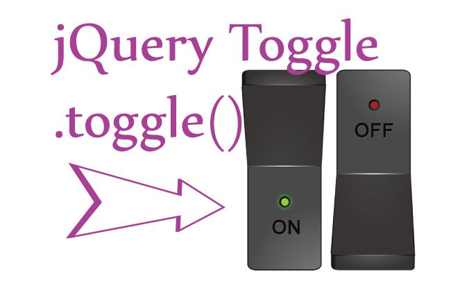 How to use jQuery Toggle Method – .toggle()