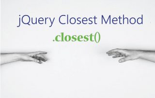 Learn jQuery Closest Method – .closest() with Example and Codes