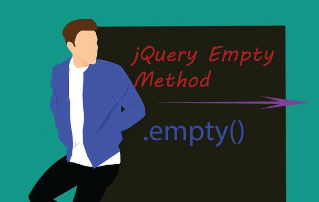 How to use jQuery Empty Method – .empty()