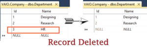 deleting record ef core