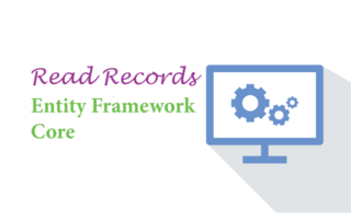 Read Records in Entity Framework Core