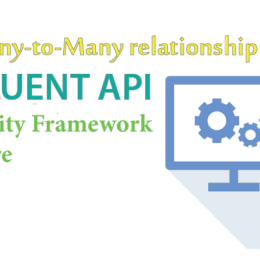 fluent api many to many ef core