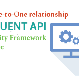 fluent api one to one ef core