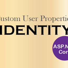 Custom User Properties in identity