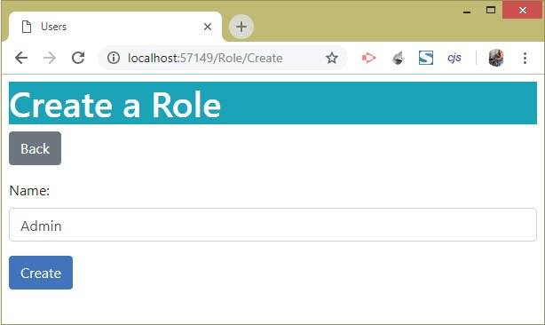 create role identity