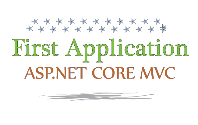 first application asp net core mvc