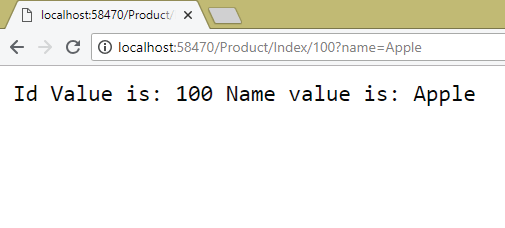 asp route query string