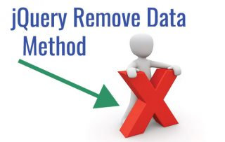 jQuery removeData() method – Used to remove attached data to elements