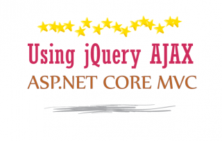 How to use jQuery AJAX method to call an Action method in ASP.NET Core